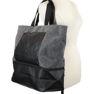 SOLD✨ Large Suede Tote DSW - Grey
